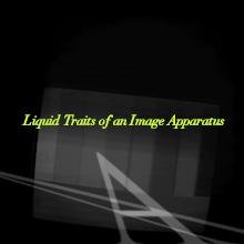 Flüssige Wesenszüge einer Bildapparatur